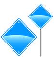 New road sign vector