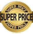 Super price golden label vector