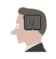 Head labyrinth vector