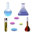 Set chemical ellements vector