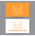 Fox geometric line vector