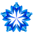 Abstract blue pattern vector