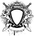 Board lions crown vector