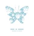 Shiny diamonds butterfly silhouette pattern frame vector