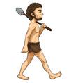 Cave man vector