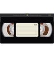 Videocassette vector