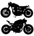 Motor silhouette vector