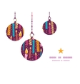 Colorful birthday candles christmas ornaments vector