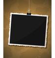 Photo frame design vector