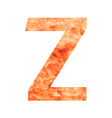 Z land letter vector