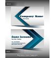 A company calling card vector