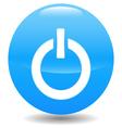 Power blue circle logo vector
