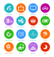 System flat icons - set iv vector