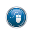 Computer mouse icon vector