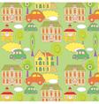 Cute seamless wallpaper vector