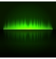 Green digital abstract equalizer background vector