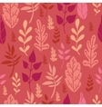 Red leaves seamless pattern background vector