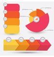 Infographic element design vector