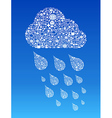 Cloud computing social media vector