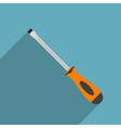 Flat screwdriver vector