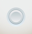 White button vector