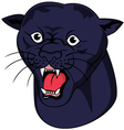 Nice panther head vector