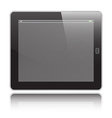 Tablet horizontal vector