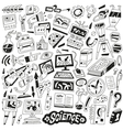 Science - doodles vector
