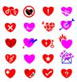 Heart icon concept vector