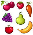 Fruit set vector