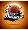 On a happy halloween theme vector