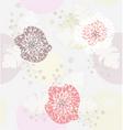 Cute pastel spring floral patt vector