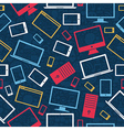 Tablet computer seamless pattern vector