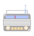 Vintage radio vector