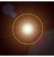 Abstract lens flare light vector