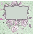 Vintage background flower template eps 8 vector