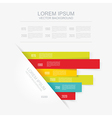Abstract 3d infographic vector