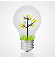 Bulb recycling reuse of old light bulbs vector