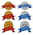 Guaranty sticker vector