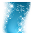 Light blue abstract christmas background vector
