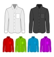 Shirt in various colors vector