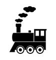 Locomotive icon vector