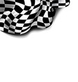 Flag checkered vector