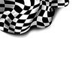 Flag checkered vector