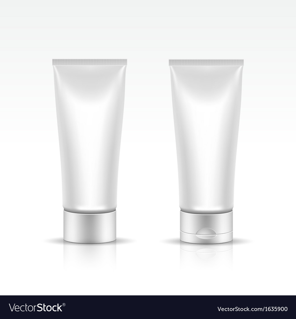Tube for cosmetic package vector | Price: 1 Credit (USD $1)