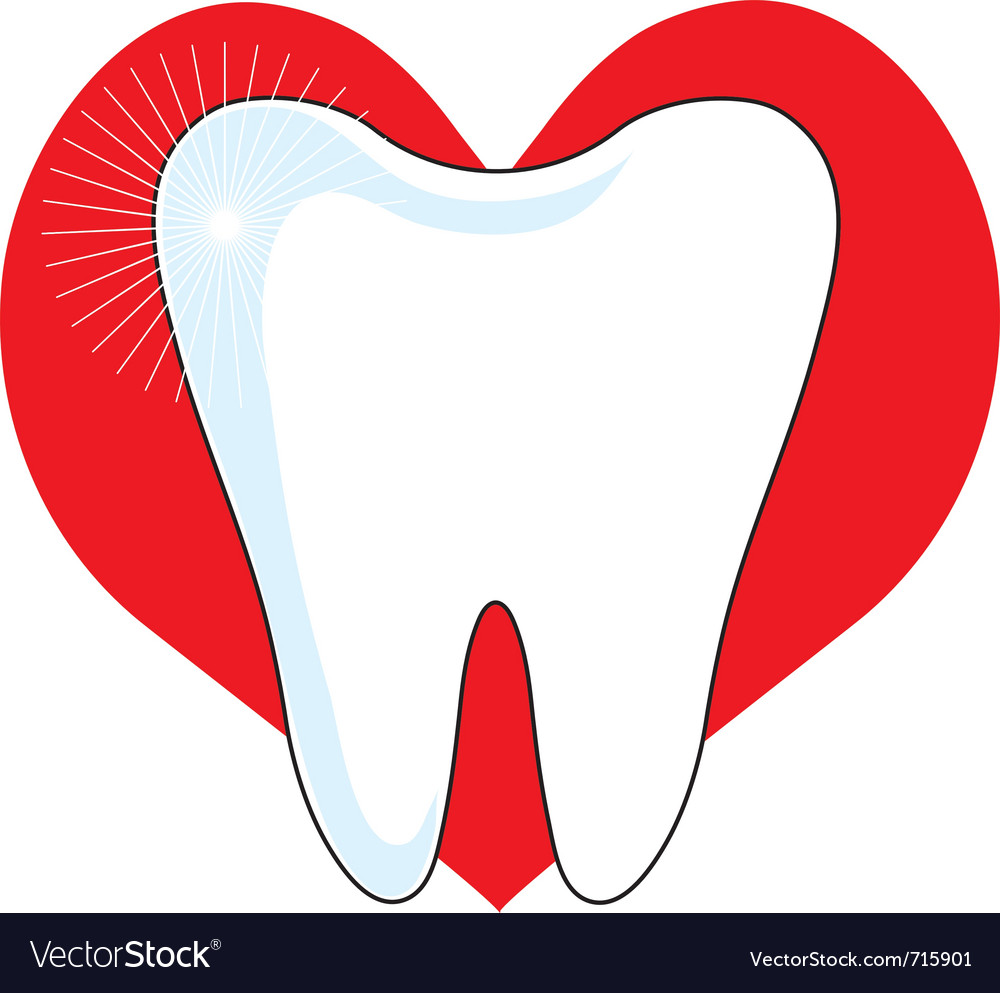 Love my tooth vector | Price: 1 Credit (USD $1)