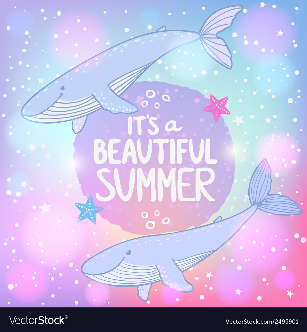 Whales cosmo vector   Price: 1 Credit (USD $1)