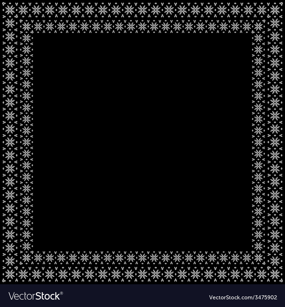Ornamental decorative frame vector | Price: 1 Credit (USD $1)