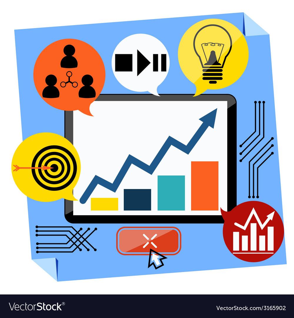 Presentation of business development concept vector   Price: 1 Credit (USD $1)