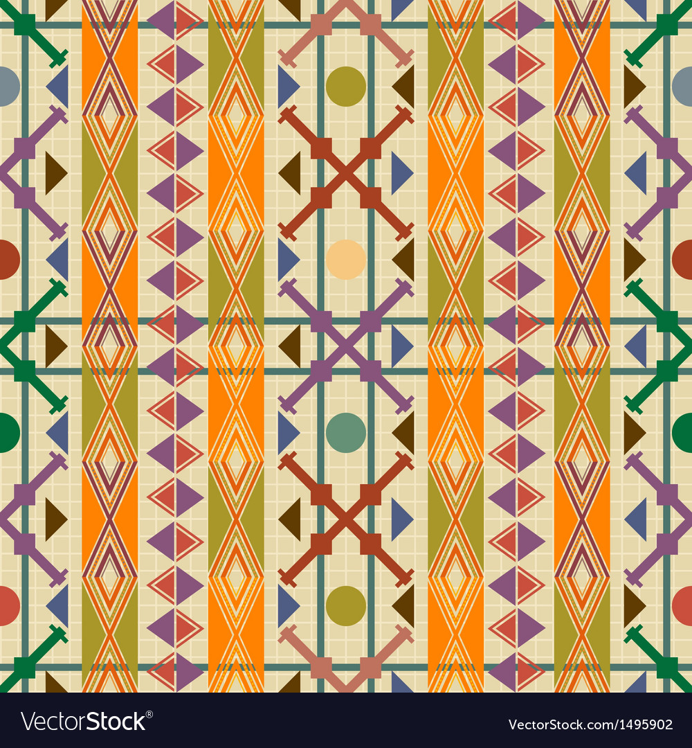 Seamless pattern decor vector | Price: 1 Credit (USD $1)